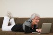 Senior Woman On A Laptop - 10