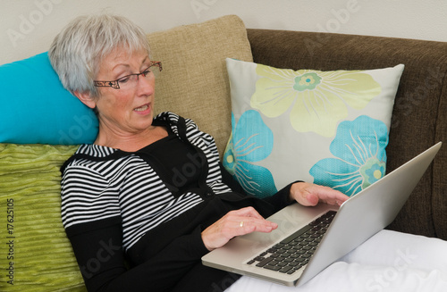Senior Woman On A Laptop - 5
