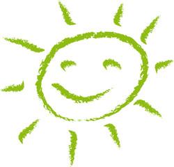 Soleil vert