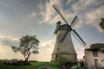 Windmühlen HDR