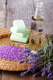 Spa and aromatherapy still life