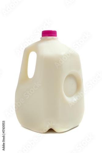 Leinwandbild Motiv Gallon jug of milk