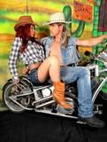 Fototapety couple moto