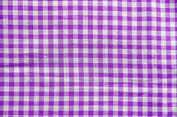 Purple plaid pattern
