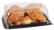 Croissant packaging. Clipping path
