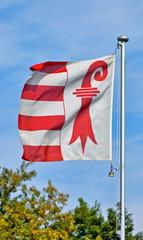 Flag of swiss Kanton Jura