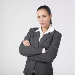 femme d'affaires observation