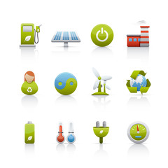 Icon Set - Environmental Conservation