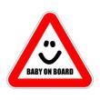 zeichen baby on board I