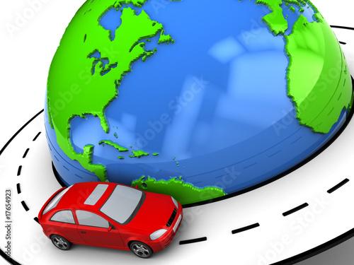 poster of travel around world