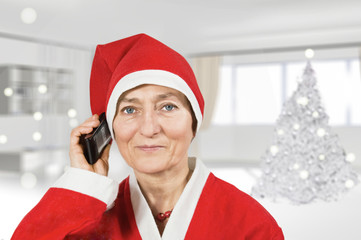 babbo natale cellulare
