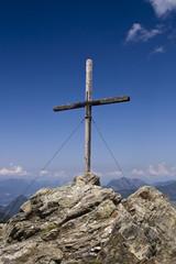 Am Ziel - Gipfelkreuz