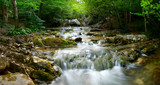 Natural Spring Waterfall