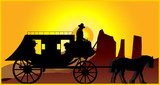 STAGECOACH B poster