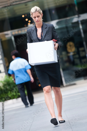 Unemployed Businesswoman