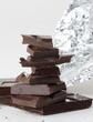 chocolat, patissier, noir,