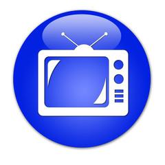 bottone blu tv