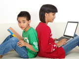 children learning software poster