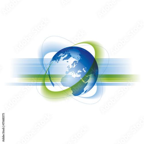Globale Welt und Business