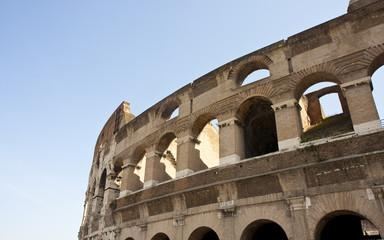 Coliseum and Shadows