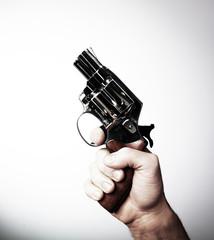 main arme à feu départ compétition