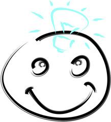 Glücklich Gesicht - Idee