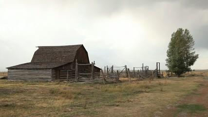 Mormon Row Barn in Grand Tetons National Park