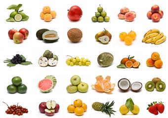 Frutas variadas.
