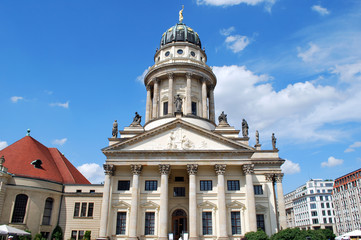 tower of the german dome on the gendarmenmarkt place