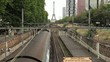 Train Moving on Rails in Paris