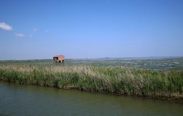 paesaggio del delta del pò