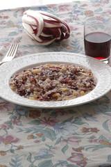 Risotto al radicchio rosso - Primi piatti del veneto