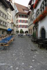 a passeggio per Zug