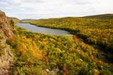Autumn Color in Michigan Upper Peninsula poster