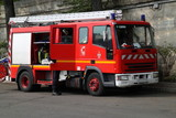 Feuerwehrauto in Paris