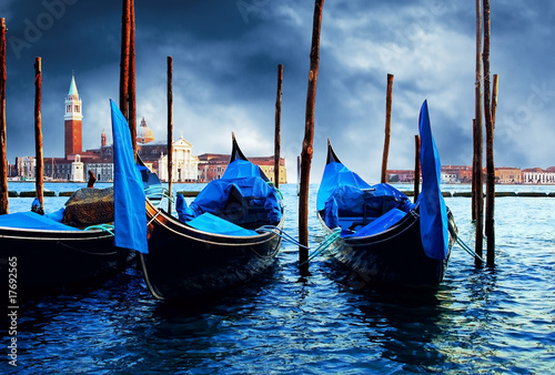Plexiglas Gondolas Venezia - travel romantic pleace