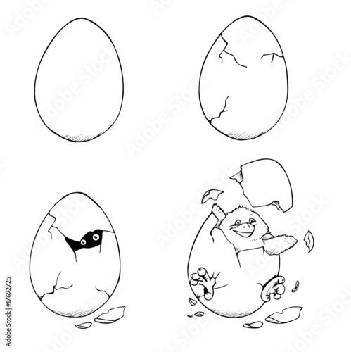 GamesAgeddon - Huhn, Küken, Henne, Ostern, Hühner, Familie, Mutter ...