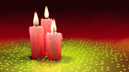 Ruhige Kerzen