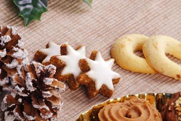 christmas cookie - biscuit - weihnachtsgebäck