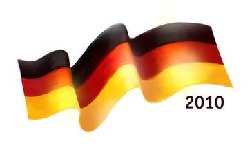 Flagge - Deutschland 2010