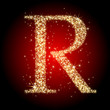 letter star R