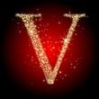 letter star V
