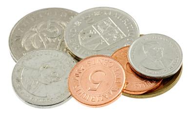 pièce monnaie mauricienne