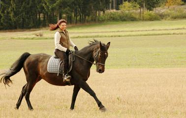 Equestrienne.