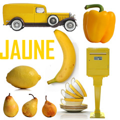 jaune, yellow