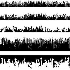 Pubblico vettoriale - new