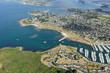 vue aérienne de Port Crouesty,  Golfe du Morbihan