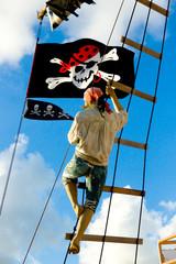 pirate climbing rigging