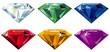 Precious stones with sparkle - 17713318
