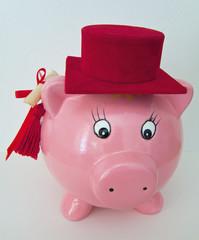 Graduate pig